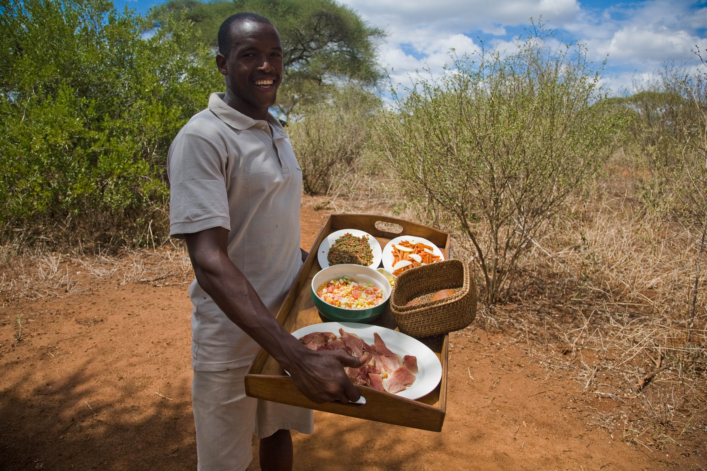 Mittagessen im Tarangire Safari Camp