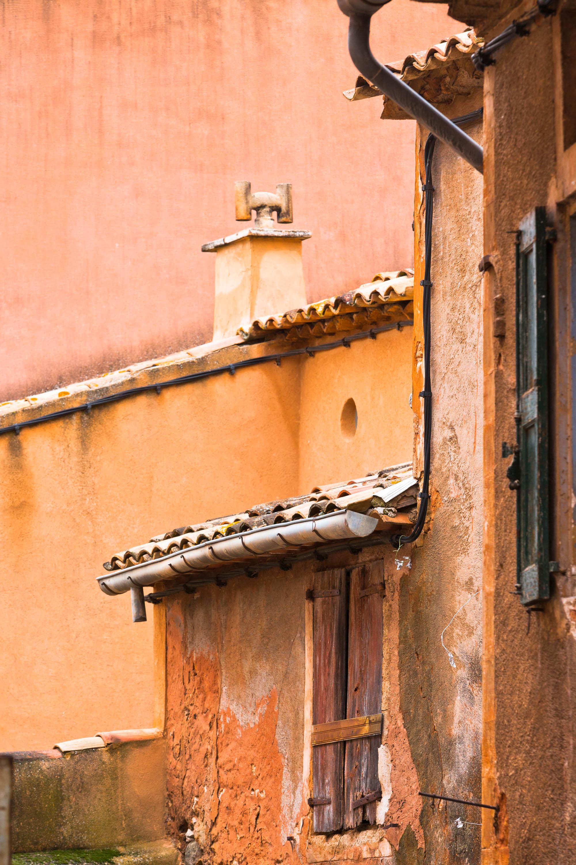 Details eines Hauses, Frankreich