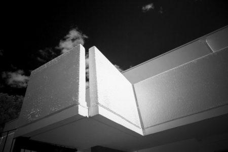 Balkon in einem Feriendorf