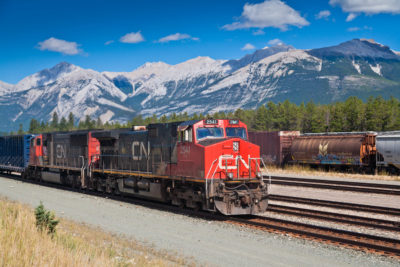 Canadian National RR, Jasper, Alberta