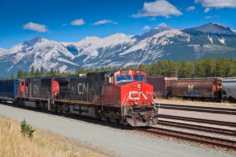 Canadian National RR, Jasper, Alberta