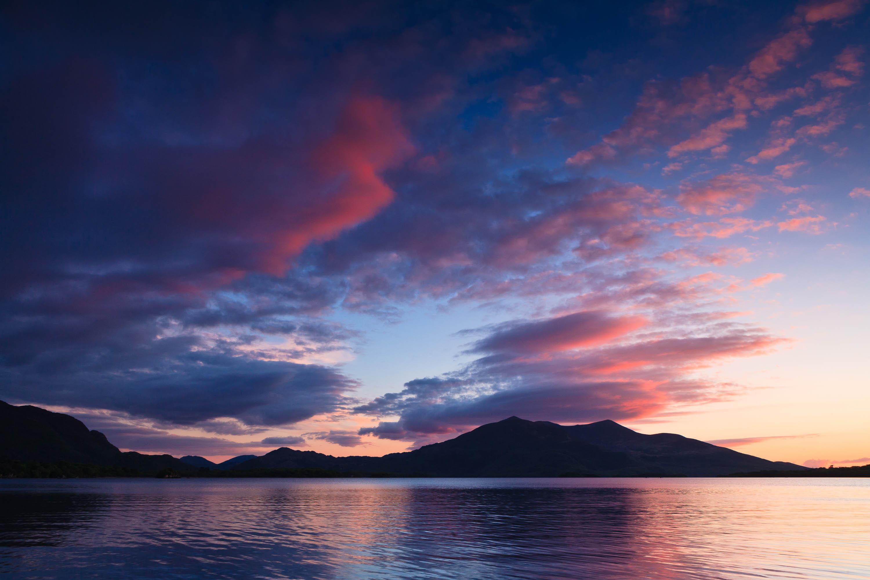 Castlelough Bay, Loch Leane, County Kerry, Irland