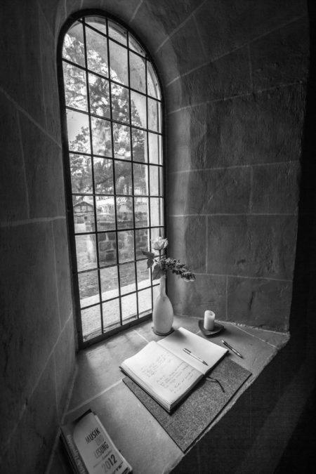 Fenster in einem Kloster