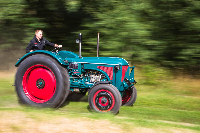 Rasender Traktor