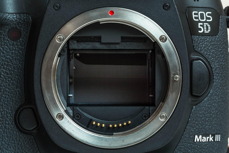 Verschluss in einem Kameragehäuse