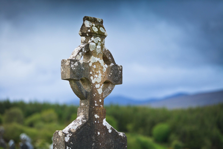Keltisches Kreuz in Irland